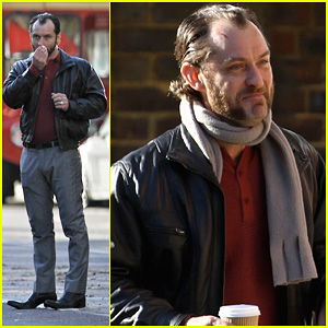 Jude Law: 'Dom Hemingway' Set Fun!