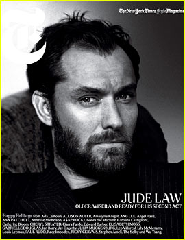 Jude Law: I'm Not That Pretty Young Thing Anymore