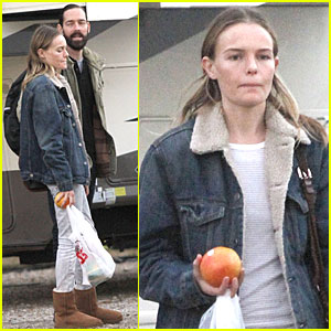 Kate Bosworth: 'Homefront' Set with Michael Polish!