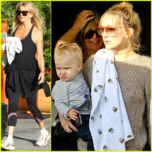 Kate Hudson: Mom Goldie Hawn's Birthday Lunch!
