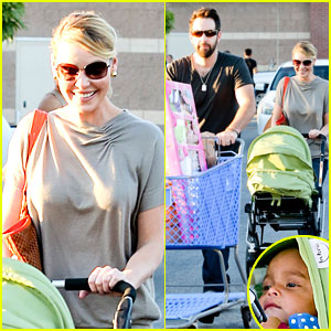 Katherine Heigl & Josh Kelley: Naleigh's Birthday Party Shopping!