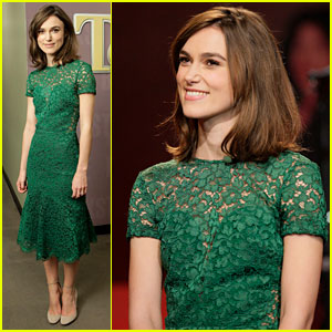 Keira Knightley: 'Tonight Show with Jay Leno' Appearance!