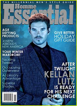 Kellan Lutz Covers 'Essential Homme' November/December