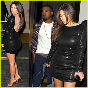 Kim Kardashian: Hakkasan Dinner with Kanye West!