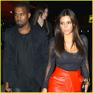 Kim Kardashian & Kanye West: 'X Factor' & Dinner Date!