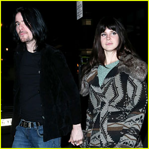 Lana Del Rey: Scotts Restaurant with Barrie James O'Neill!