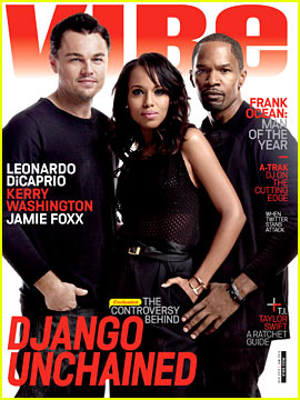 Leonardo DiCaprio & Kerry Washington Cover 'Vibe' December/January 2013