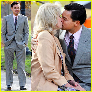 Leonardo DiCaprio Kisses Joanna Lumley on 'Wolf' S