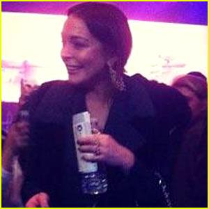 Lindsay Lohan: Justin Bieber Concert Pre-Arrest