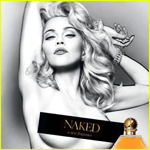 Madonna: Topless 'Truth or Dare Naked' Fragrance Ad!