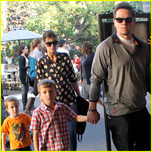 Mark Wahlberg & Rhea Durham: 'Life of Pi' with the Kids!