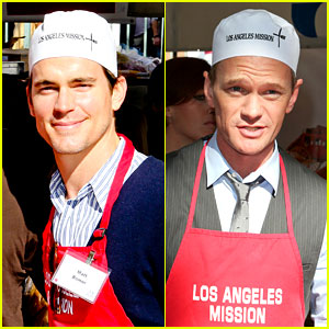 Matt Bomer & Neil Patrick Harris: Thanksgiving Mission Help!