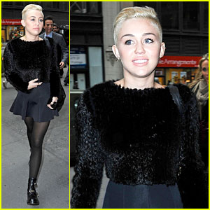 Miley Cyrus: 'Dope Morning' in New York City!