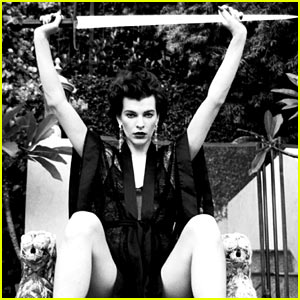 Milla Jovovich: 'Flaunt' Magazine Feature!