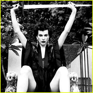 Milla Jovovich: 'Flaunt' Magazine Feature!