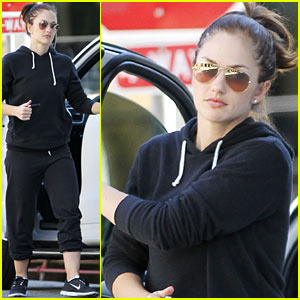Minka Kelly: Beverly Hills Errands Gal!
