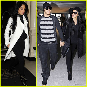 Nicole Scherzinger: Leaving London with Lewis Hamilton!