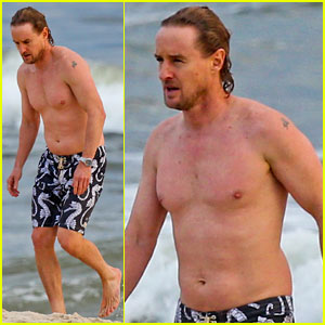 Owen Wilson: Shirtless in Rio!