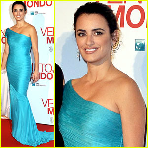 Penelope Cruz: 'Twice Born' Rome Premiere!
