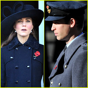 Prince William & Duchess Kate: Remembrance Sunday Ceremony