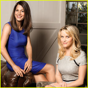 Reese Witherspoon: 'Gone Girl' for 'THR' with Author Gillian Flynn!