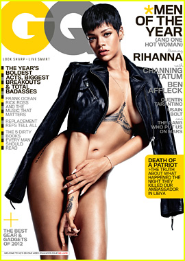 Rihanna: Naked 'GQ' Cover Girl!