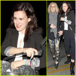 Rumer Willis Celebrates President Obama's Win!
