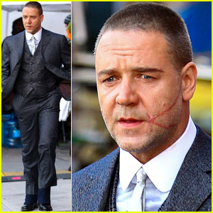 Russell Crowe: Facial Scar For 'Winter's Tale'!