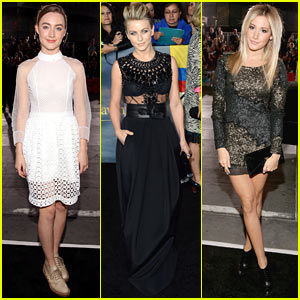 Saoirse Ronan & Julianne Hough: 'Twilight Breaking Dawn Part 2' Premiere!