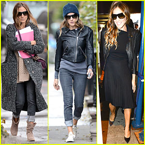 Sarah Jessica Parker: 'Electric Holiday' Animated Star!