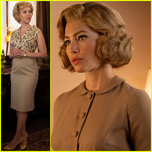 Scarlett Johansson & Jessica Biel: 'Hitchcock' Exclusive Images!