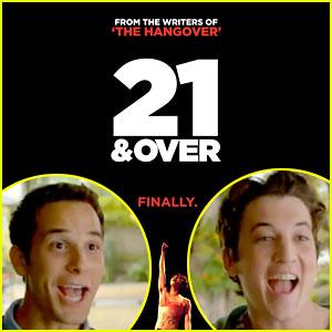 Skylar Astin & Miles Teller: '21 & Over' Trailer & Poster!