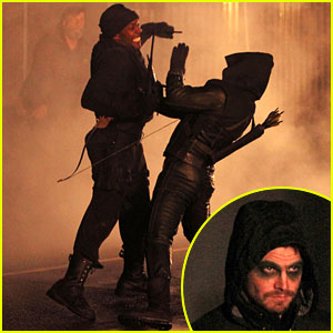 Stephen Amell: Late Night 'Arrow' Fight Scenes!