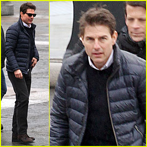 Tom Cruise: 'All You Need is Kill' Set!