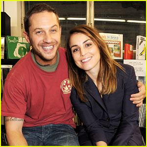 Tom Hardy & Noomi Rapace: 'Blag' Magazine's 20th Anniversary Signing!
