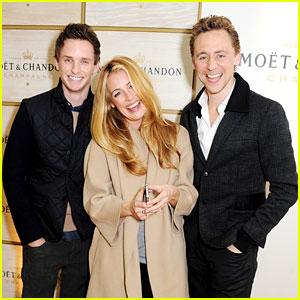 Tom Hiddleston & Eddie Redmayne: ATP World Finals!
