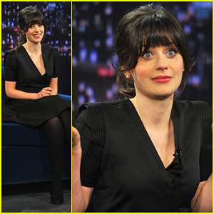 Zooey Deschanel: 'Late Night with Jimmy Fallon' Appearance!