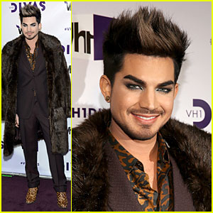 Adam Lambert - VH1 Divas 2012 Red Carpet!