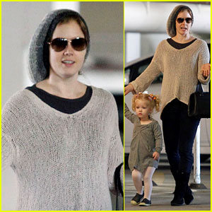 Amy Adams: Ballet Class with Aviana!