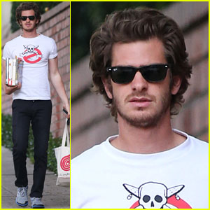 Andrew Garfield: Local Library Stop!