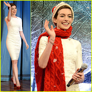 Anne Hathaway: 'Late Night with Jimmy Fallon' Appearance!