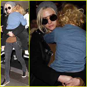 Ashlee Simpson & Bronx: Back in Los Angeles!