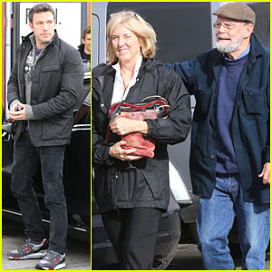 Ben Affleck: Fifth Studio with Parents Timothy & Chris