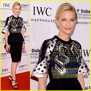 Cate Blanchett: Filmmaker Award Gala Dinner in Dubai!