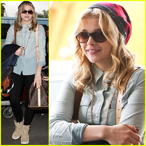 Chloe Moretz: Hello There, New York City!