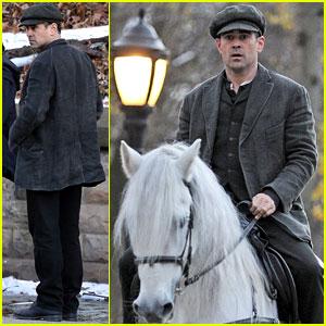 Colin Farrell: Horseback Riding for 'Winter's Tale!'