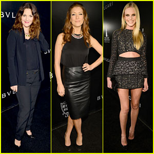 Drew Barrymore & Kate Walsh: Rodeo Drive Honors Bvlgari!