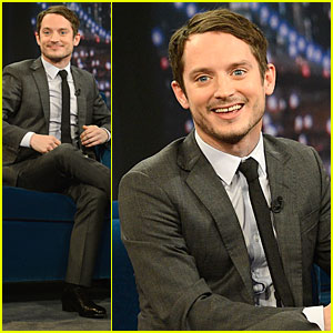 Elijah Wood: 'Late Night with Jimmy Fallon' Appearance!