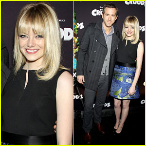 Emma Stone & Ryan Reynolds: Fox Film Slate Presentation!