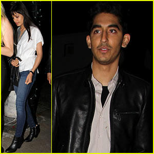 Freida Pinto & Dev Patel: Red O Dinner with Pals!